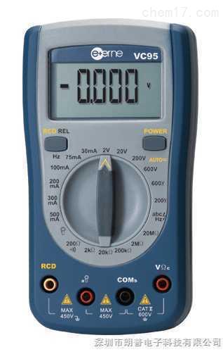 伊万│VC95带有漏电开关检测的数字万用表