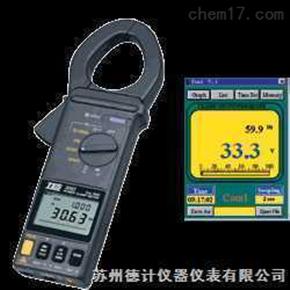 TES-3063/3064 数字钩式功率表与RS-232窗口接口