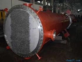 管程材料為鈦材,殼程材料為碳鋼換熱器1