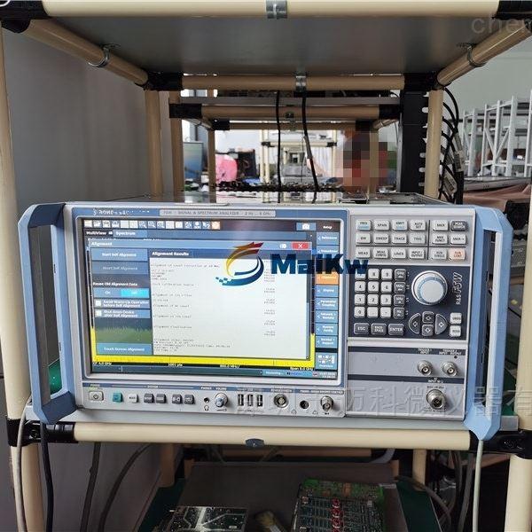 维修罗德与施瓦茨频谱仪FSW前置放大器报错