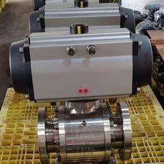 Q641H-64RL-125气动硬密封球阀