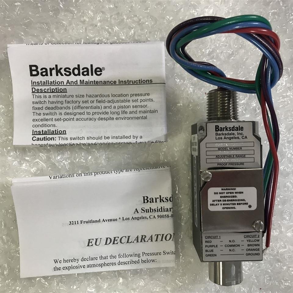 大量GK030303-031现货barksdale压力传感器