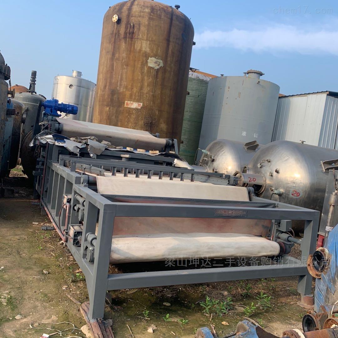 回收二手带式压榨压滤脱水压滤机