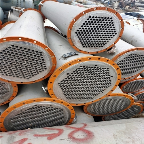 济宁二手锈钢列管冷凝器处理