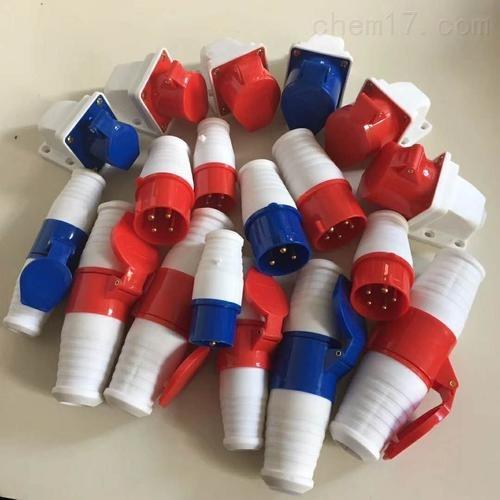 防水防尘防腐插座|FCX125A三防插头, 工程塑料制造220V三防插头