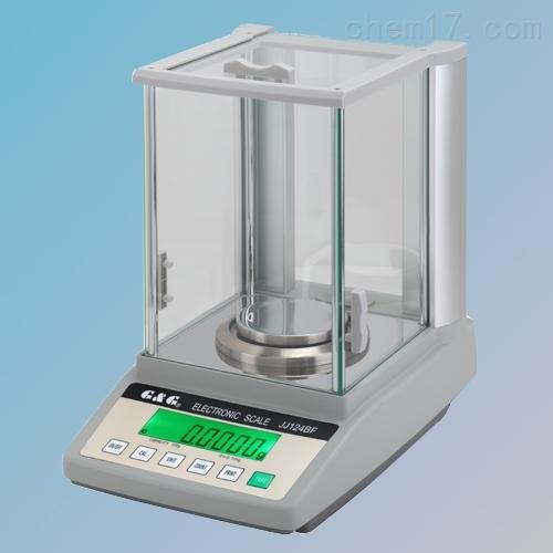 双杰JJ224BF内校万分位电子天平220g 0.1mg