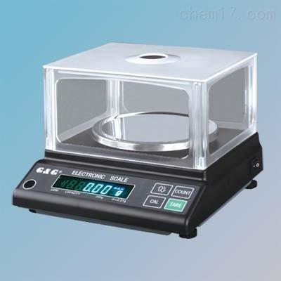 双杰JJ200百分之一电子天平200g/0.01g