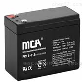 MCA蓄电池FC12-250AT/12V250AH成交价格