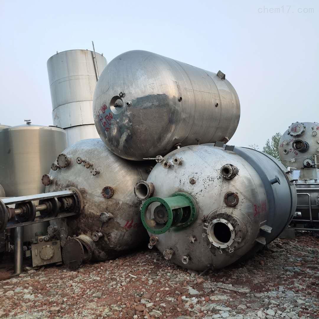出售二手5立方高温实验室不锈钢反应釜