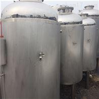 二手冷却不锈钢储罐1-60立方大量销售
