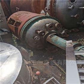 全国回收二手不锈钢高压反应釜