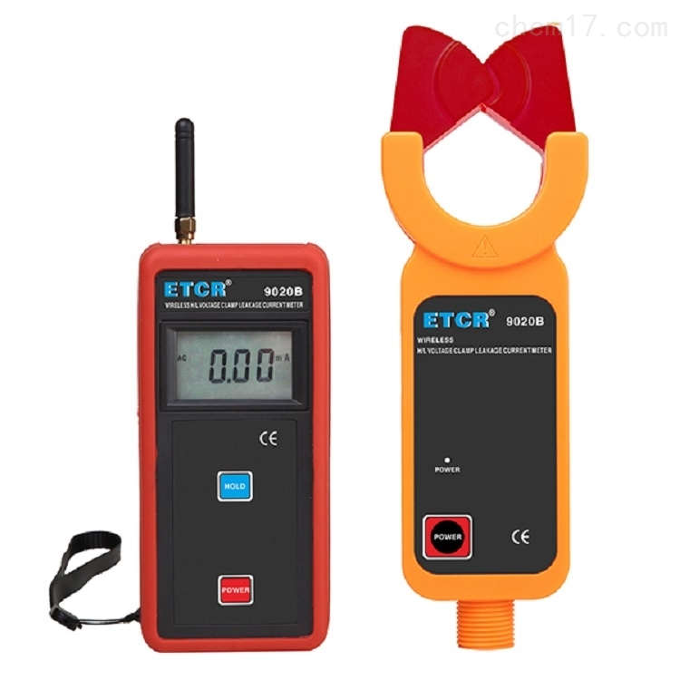 原装ETCR9020B高低压钳形漏电流表使用