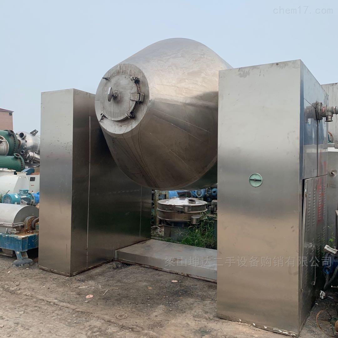 二手4000升不锈钢双锥干燥机