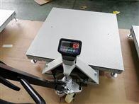 1.5T移动式地磅 SCS-1.5吨电子地磅