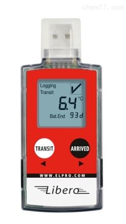 瑞士elpro便携式医药冷链PDF温度记录仪