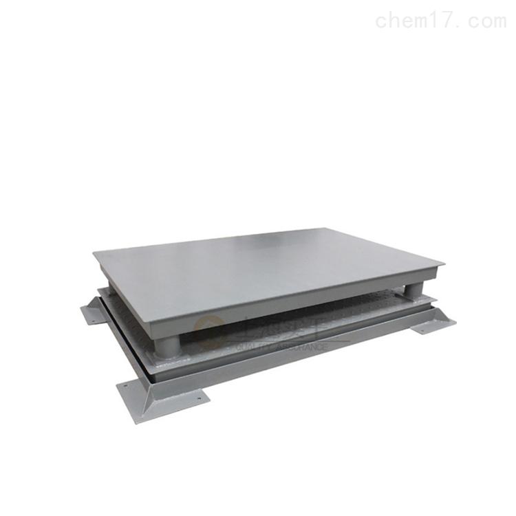三层缓冲平台电子秤,称钢卷地磅秤