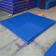 DCS-HT-A1000kg带框架电子地磅 2T高精度双层平台秤