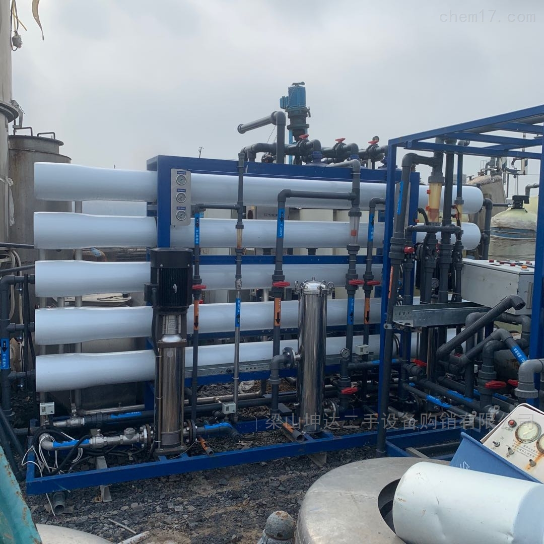 二手6吨双级EDI超滤水处理 纯水