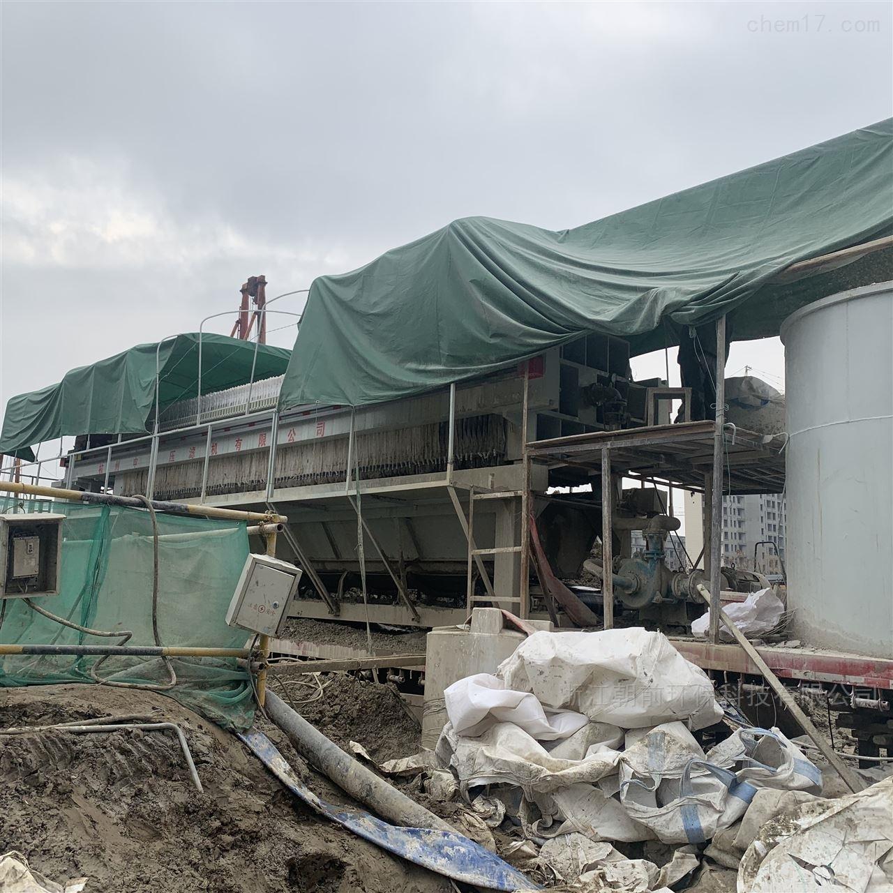 工地打桩泥浆处理压滤机