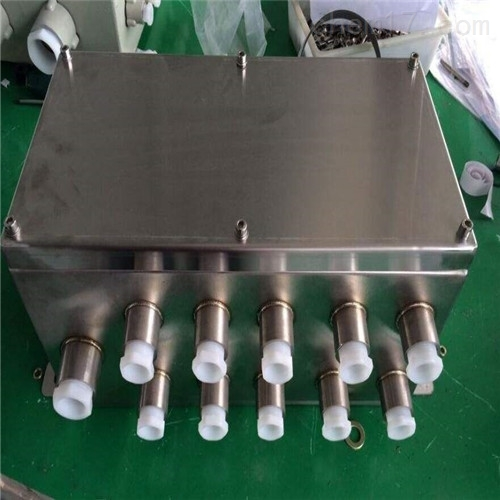 10A/22OV信号切换三防接线箱(物美价廉)FJX防水防尘防腐接线箱(黑)
