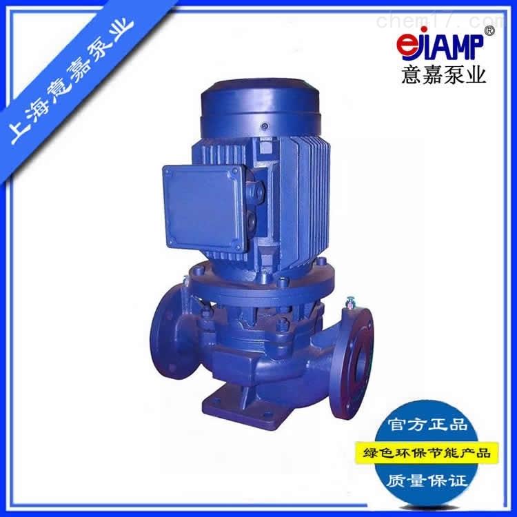 ISG立式单级管道离心泵