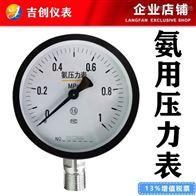 氨用压力表厂家价格 型号 304 316L