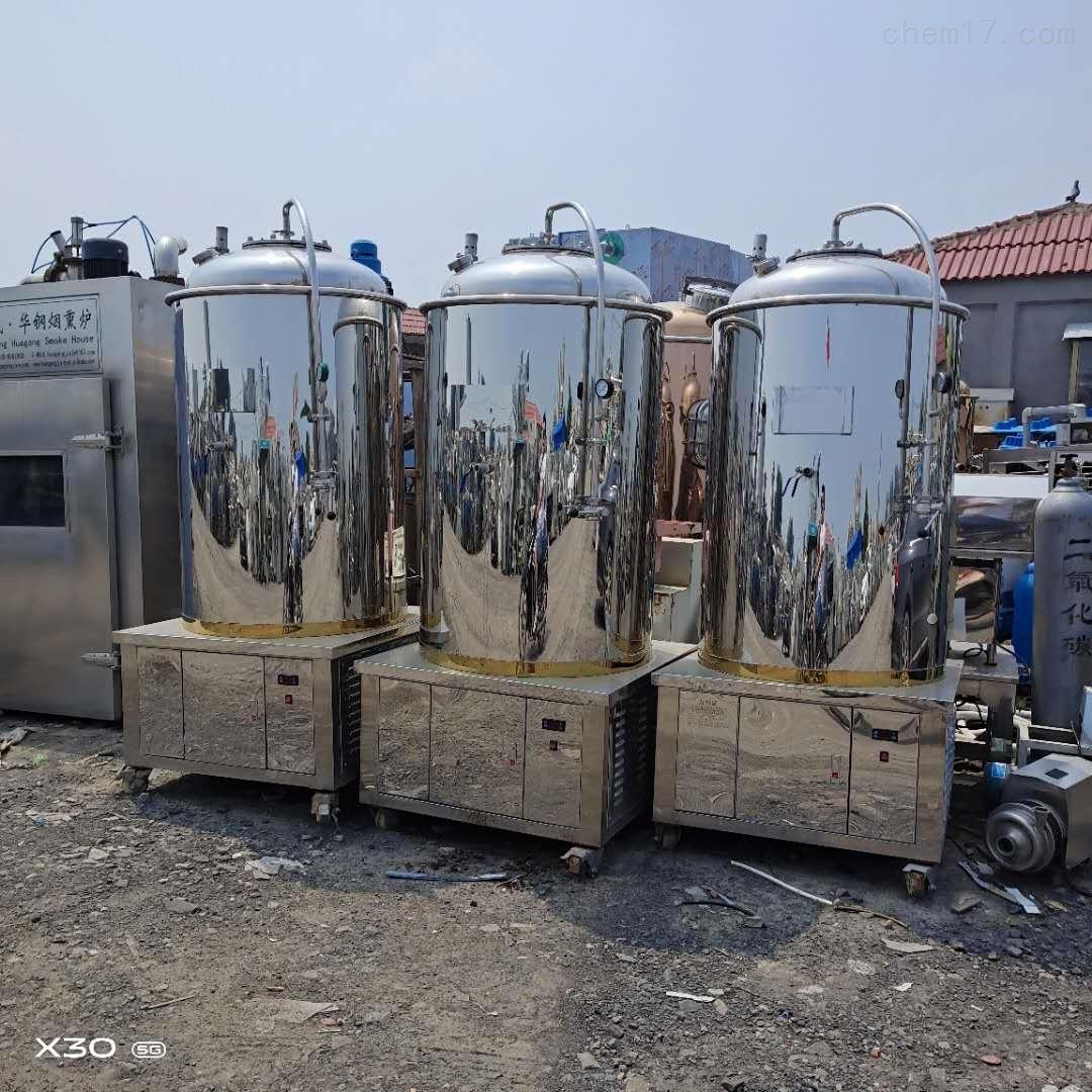 供应二手不锈钢储罐耐腐蚀耐高温环保设备