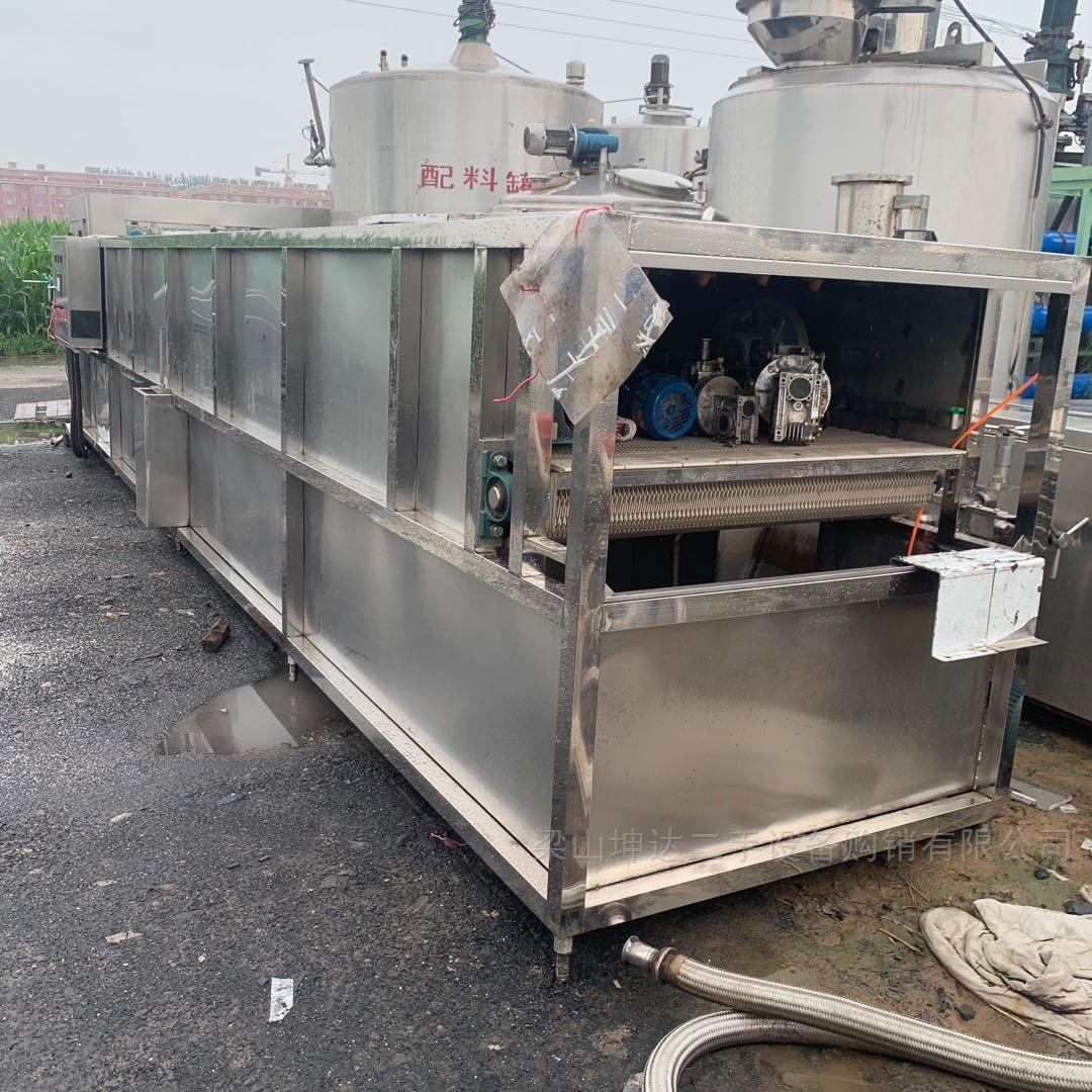 二手连续式喷淋杀菌冷却机