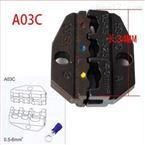 A03C氣動式端子壓接機鉗口