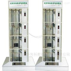 四层透明仿真电梯模型