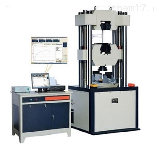 微机控制电液伺服液压试验机、线材伸长率
