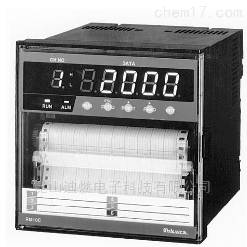 OHKURA记录仪RM10C