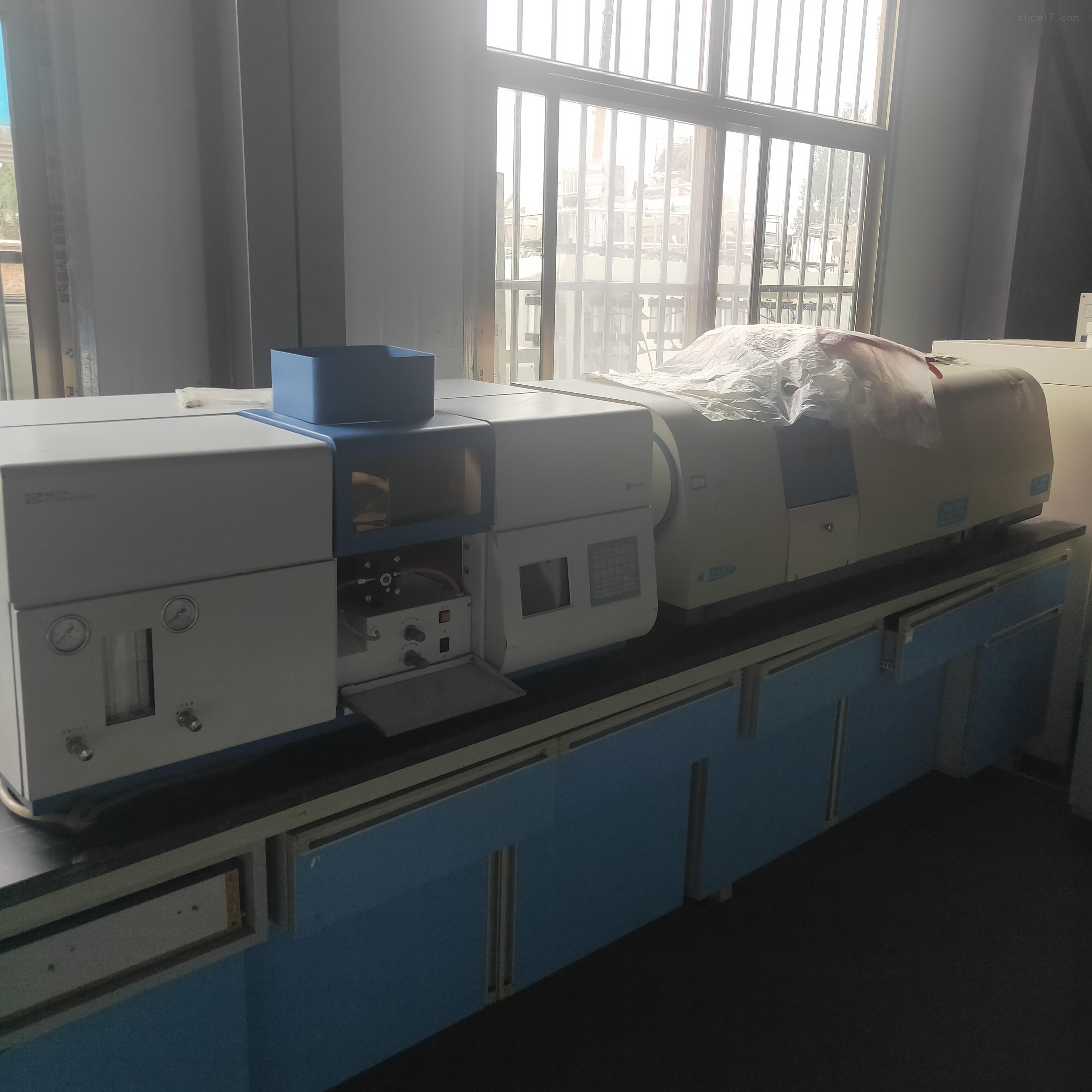 回收实验室设备二手普析990原子吸收