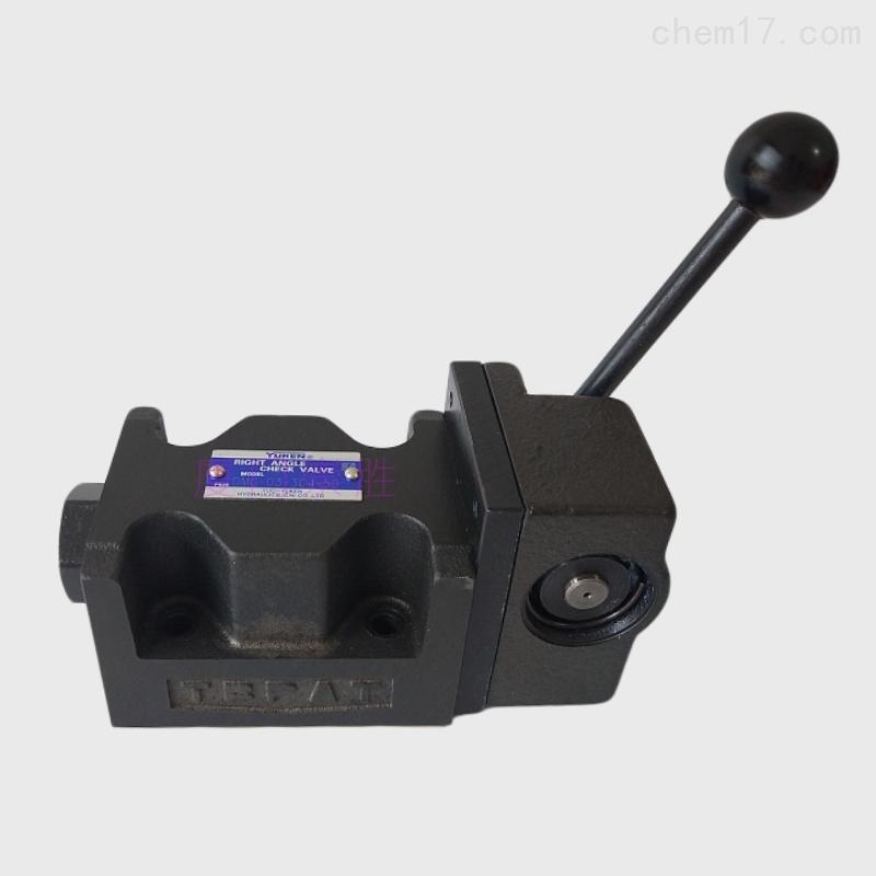 正品油研液压阀供应手动换向阀