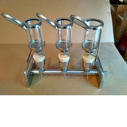 三联式无菌检查薄膜过滤器