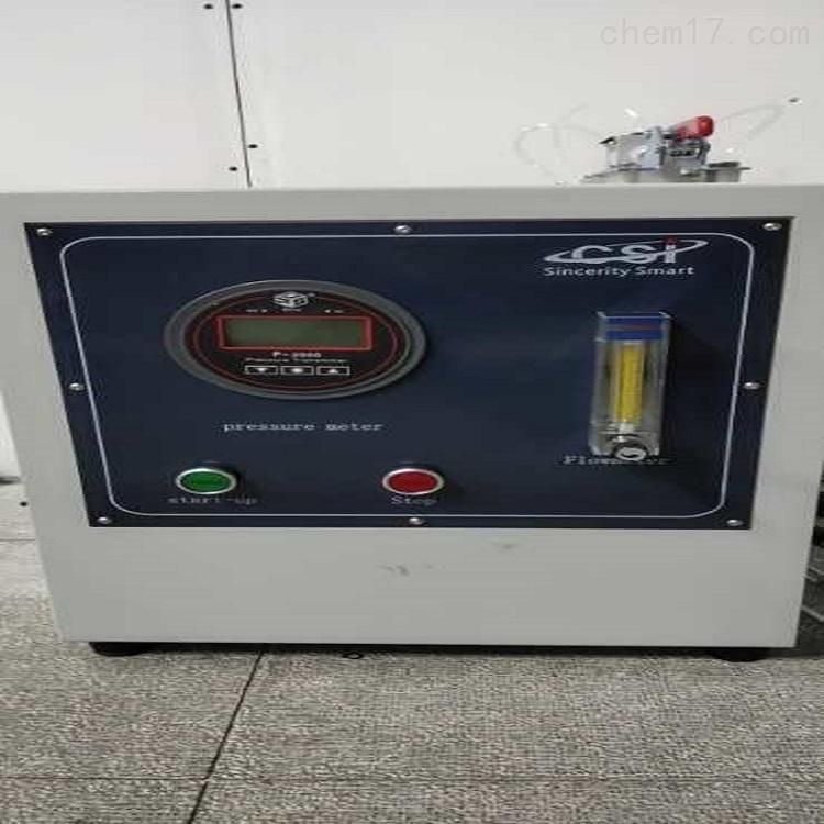 醫用防護熔噴濾料氣體交換壓力差測試儀