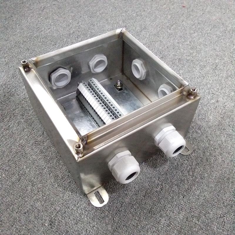 FXJ不锈钢端子箱300*200*100三防金属控制箱