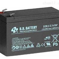 12V34AH台湾BB蓄电池HR1234W直流电源