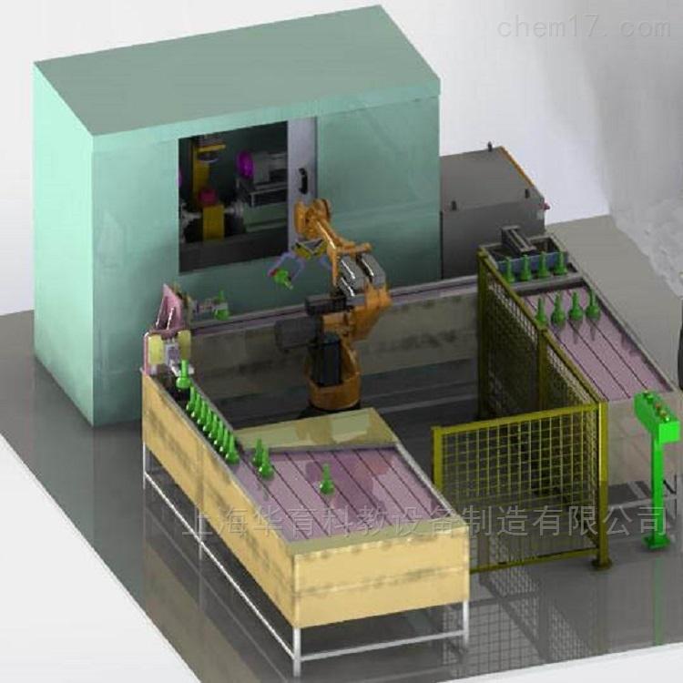加工中心上下料机器人工作站设备
