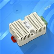 温湿度变送器温度计modbus传感器卡轨工业级