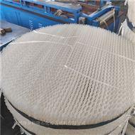 氨法脱硫塑料规整填料共沸塔250YPP孔板波纹
