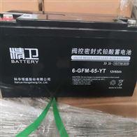 12V120AH科华蓄电池6-GFM-120-YT