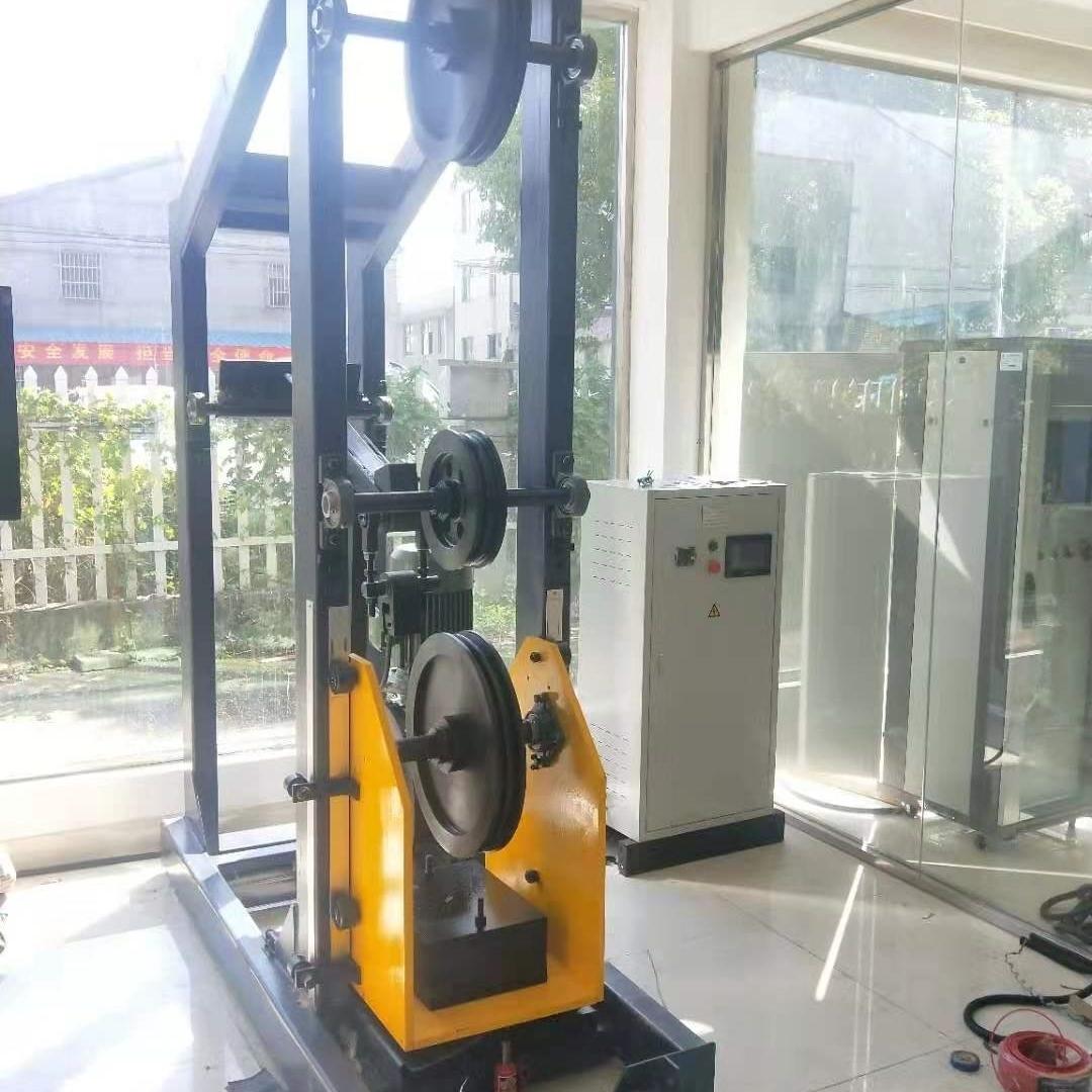 一诺专业定制电梯钢丝绳弯曲疲劳试验机