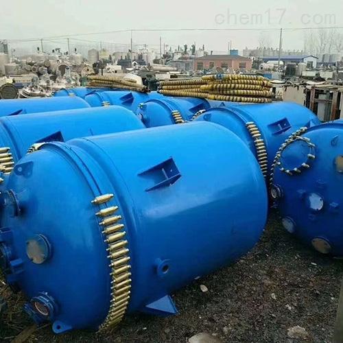 二手12吨高压反应釜二手设备厂