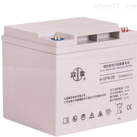 双登铅酸免维护蓄电池12V50AH