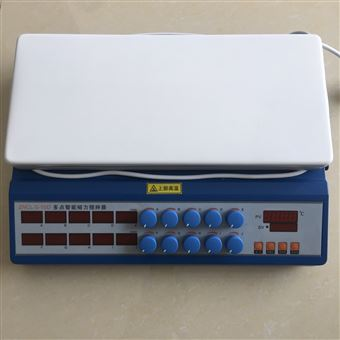 ZNCL-S-10D十点磁力搅拌器(加热板)