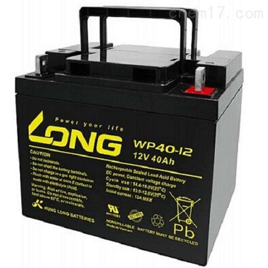 LONG广隆蓄电池WP40-12免维护