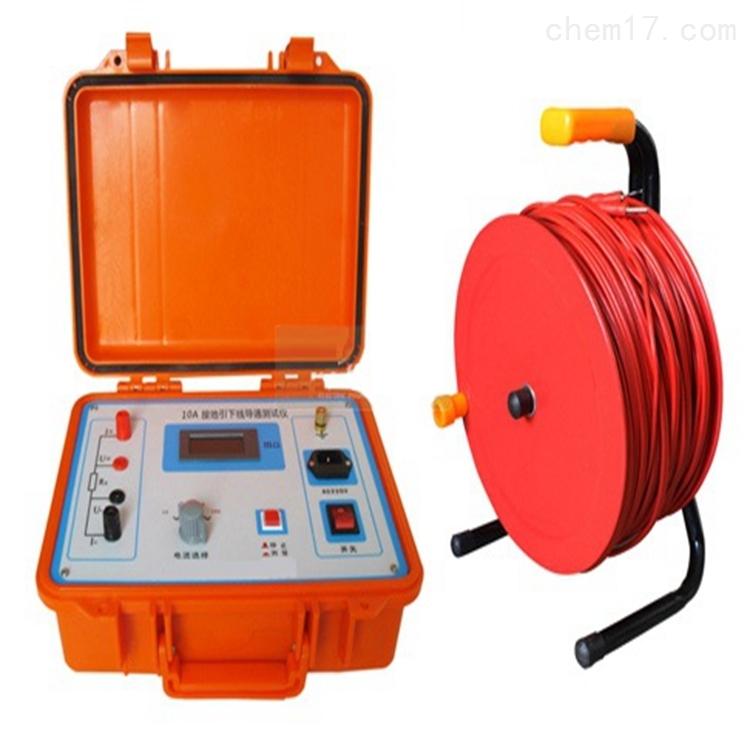 带打印接地引下线导通电阻测试仪