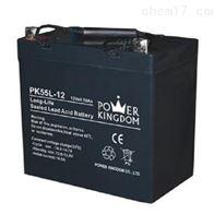 12V55AH三力蓄电池PK55L-12区域销售