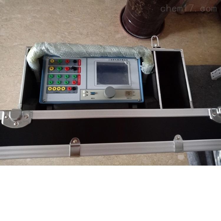 巴中电力承装修试三相继电保护测试仪